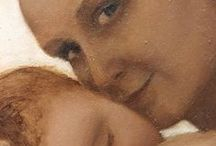 MCLino: Maternità / Ecco alcuni miei dipinti ad olio ispirati al tema della maternità. Se ti piace il mio stile e vuoi vedere altri quadri come questi visita il mio sito www.mclino.com.