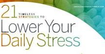 How to handle Stress / Information and tips on how to handle stress