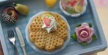 Miniature food for dolls