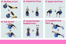 Strength and abs workouts / All things fitness