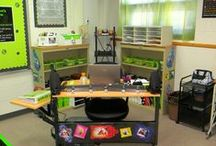 Classroom Black and Green Themed / organization, classroom, black and green themed / by Kim Cannon