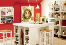 Craft rooms to drool over / How can you *not* feel creative in spaces like these??? / by MyMemories