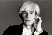 ANDY WARHOL / Andy Warhol (1928-1987) ... Artist and Photographer ...  Art and Photography  / by Lacie Whitney