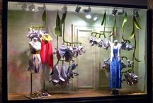 Anthropologie Window Display Art / These are truly amazing window art !