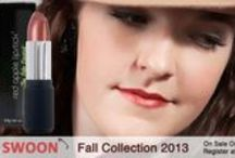 Red Apple Lipstick Fall Collection 2013 Lookbook / Check out the newest eyeshadows and lipsticks in Red Apple's Fall 2013 Collection.  All Matte Eyeshadows and Autumn Inspired Shades / by Red Apple Lipstick