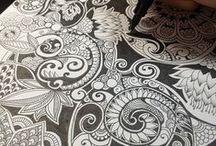 ZentangleDoodles / Zentangle artwork and just some doodles