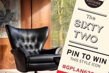 The G Plan Vintage Sixty Two Chair Competition  / Create your own board, named 'The G Plan Vintage Sixty Two Chair Competition'. REPIN the competition image (as your cover photo) and the swatch of your choice from this board. Then, create your ideal setting - have a look at our example board for inspiration (http://bit.ly/1eCps5b). Include a brief description and once you've read the T&Cs, post the link to your board on our Facebook page (http://on.fb.me/17YL7F6) so we can find it. Full details found here: http://bit.ly/1j97ozL