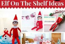 Elf on the Shelf / Is your sweet, mischievous, magical Elf on the Shelf ready to return for the holiday season? Add fun to this Christmas with these cute Elf on the Shelf ideas for kids and families!