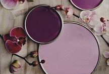 Dark Romance / One of the colour trends for 2014, Blush, is a perfect fit for Valentine's day. Dusky pinks and dark berry tones are a beautiful match!