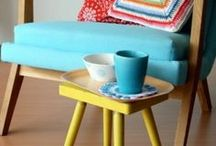 Turquoise Brights / Turquoise tones feature heavily in mid-century modern, from fabrics to bright punctuating ornaments and accessories. This trend has come back around with this hue popping up in home.