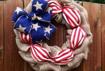 Independence Day July 4th / Everything to decorate for July 4th #independenceday #july4 #independence #diy #crafts