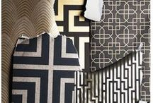 Glamorous / Faux furs, animal prints and embossed details bring luxe and lustre to any home.