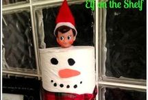 Our Elf on the Shelf-Skippy and Ginger / Elf on the Shelf Fun. Our 2 elves, Skippy and Ginger are always up to something.