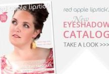 Eyeshadows By Red Apple Lipstick / Gluten Free Mineral Eye Shadows - Guaranteed To Not Make Your Eyes Itchy, Puffy, Red, or Swollen - Or Your Money Back / by Red Apple Lipstick