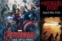 AvengersEvent / Follow along AvengersEvent bloggers provide coverage of the Marvel Avengers: Age of Ultron and events!, Marvel comics, Marvel Studios