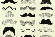 The Upper Lip / We're celebrating the start of Movember with a board full of our most favourite moustache designs...