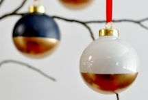 Festive Inspiration: Finishing Touches / We've handpicked our favourite decorations and creative ideas for finishing your Christmas theme with a flourish...