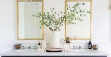 For the Home / A collection of decor and inspiration for creating a beautiful home.