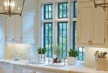 white kitchens HGTV / by Marie