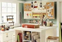 Studio / Ideas for decorating and organizing a craft rooms, artist studios, or maker spaces. This is also where I put ideas for things that could potentially be converted into workspace.