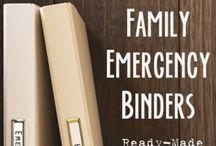 Organization - Family Binders