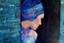 beautiful brushstrokes / paintings that are beautiful and provoke me