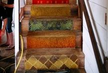 Decor: Stairwell Stylings / by Allison Wagner