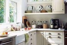 Happy Kitchen + Dining Spaces / by Allison Wagner