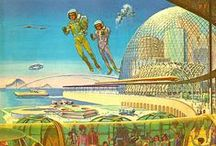 Retro Future / A vision of the future as view though the eyes of the past.