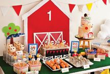 Case's 1st Birthday Ideas / by Sara Cowley Neal
