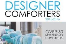 Designer Comforters 2015-2016 / Our Designer Comforters for 2015-2016 feature a selection of some of the newest, trendiest comforters for college dorms. In a variety of styles and colors, you are sure to find a style that you love with our great DormCo pricing. Our Designer Twin XL College Comforters have a high quality inner fill that is filled to the maximum so your comforter for college will always look and feel great.