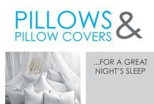 Pillows & Pillow Covers / Getting a quality night's sleep every night helps you succeed in college, and you can't get a good night's sleep without a nice college pillow under your head. You need great head and neck support so you don't wake up with a sore neck in the morning. Waking up with a sore neck could make concentrating in your college courses pretty hard. We offer a variety of college pillows so you can have the best dorm pillow for what you need.