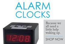 Alarm Clocks / Getting a good college alarm clock is one of those dorm essentials that every student needs to get. No longer will Mom and Dad be able to shake you when you oversleep! Getting up on your own and never missing class will require discipline and a quality college alarm clock. Our cheap dorm alarm clocks have the quality and features necessary to ensure you wake up, go to class and succeed.
