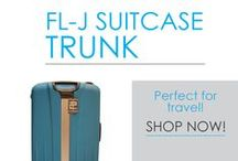 FL-J Suitcase Trunks / The best dorm essentials are compact and multi-purpose. That saves you money, but most importantly it also saves you a lot of dorm room storage space! Take a look around at DormCo's FL-J Suitcase Trunk. In a variety of bright colors to add to your dorm room decor, this is a multi-purpose college trunk that also doubles as a suitcase!