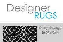 Designer Rugs / High style dorm room rugs, but still at cheap college rug prices! Adding a comfortable and decorative dorm room rug is sure to inspire lots of dorm room decorating ideas. Rugs for college dorms are more than just dorm accessories, they will also keep your feet warm and protected from that cold, hard dorm room floor.