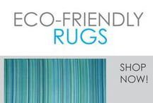 Eco-Friendly Rugs / Eco-Friendly College Dorm Rugs are the way to go! You'll get a great-looking rug for college while helping the environment. These college rugs are made from recycled materials and are lightweight. Shopping on a budget is easy with these dorm rugs because they are cheap dorm rugs!