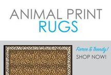 Animal Print Rugs / Looking for some wild style for your dorm room decor? Create your unique dorm room decor look with a wild side by adding our cheap animal print dorm rugs! Cheap in cost not in quality, our dorm room rugs are necessary supplies for college students! Whether you want zebra print, leopard print, or cheetah print, DormCo has the wild style dorm rug that you want!