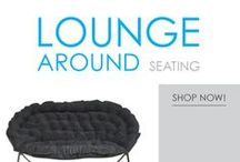 Lounge Around / Here you will find a wide selection of soft dorm seating for lounging around. Dorm room seating is always sparse, so add some cool dorm chairs and college seats to your dorm room. These comfy dorm room chairs are dorm essentials for relaxing, hanging out with friends, and napping. Take a look around at our wide variety and you're sure to find some comfy dorm room seating that you love!