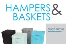 Hampers & Baskets / Laundry hampers for college are among the most vital laundry supplies for college! Don't forget a dorm laundry hamper on your college dorm room shopping list; doing laundry in college will require the right laundry dorm essentials! Go to college prepared with our dorm laundry hampers!