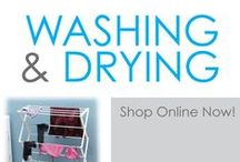 Washing & Drying / Here you will find a variety of dorm laundry supplies that will make doing laundry in college so much better. After all, you need more than a dorm laundry bag or college laundry hamper for college. To truly start college out right, you need dorm essentials such as dorm drying racks, detergent and college dryer sheets. You will find all of those dorm necessities and more in this section! Have delicate clothes that need extra care in the washer and dryer?