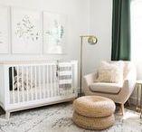 Nursery Inspiration / Inspiration for kids room, nursery, white, minimal, Scandinavian, IKEA, modern, boys nurseries, girls nurseries, baby room, crib, nursery ideas, nursery inspiration