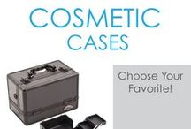 Cosmetic Cases / College Cosmetic Cases are dorm essentials if you have lots of makeup. Cosmetics are vital supplies for college, so keep them organized with our mini dorm trunk cosmetic cases. DormCo has a wide variety of college cosmetic cases so you can choose exactly what you need for the amount of makeup you're bringing with you to college. We offer a variety of sizes, styles and colors for you to choose from.