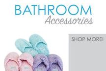 Bathroom Accessories / Here you will find all the extra little dorm items you need for your dorm bathroom. Whether you are sharing a bathroom on your dorm floor or have your own bathroom in your suite-style dorm room or college apartment, you are guaranteed to find the little dorm essentials you need to make college living better.