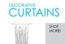 Decorative Curtains / Here you will find DormCo's great selection of Decorative Sheer Dorm Curtains. These curtains are sheer so they let in light while allowing you to have a little privacy. Plus we carry a variety of really cute and gorgeous designs, so they will add to your dorm room decor as well!