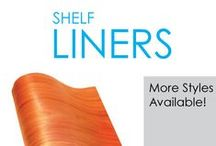 Shelf Liners / Dorm shelf liners are dorm essentials you don't want to head to college without. College shelf liners protect your clothes and other college supplies from stains and damage. You want to protect your dorm essentials - you don't know how many college students used the same university provided dorm items that you are using!