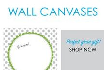 Wall Canvases / You want unique dorm room decor that makes your dorm room feel like home and DormCo has a wide variety of these one of a kind dorm essentials! Wall Canvases provide lightweight college wall decorations that are unique dorm products because you can even write on these dorm necessities.