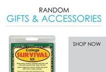 Random Gifts & Accessories / Here you will find DormCo's selection of Random Gifts and Dorm Accessories. Gift packages like these are some of the ideal high school graduation gift ideas for college-bound students headed to school. You'll find a variety of neat dorm essentials for the future college student here.