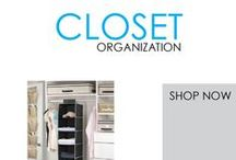 Closet Organization / One aspect of college dorm life that is sure to be different from home is how you store your clothes, shoes and other dorm essentials. Bringing all your college necessities will certainly require you to add dorm room essentials such as organizers, sweater shelves and shoe holders to your dorm shopping list.