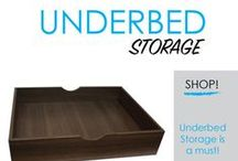 Underbed Storage / The space under a dorm bed is an area of dorm room storage that usually goes unused. And it shouldn't because it provides a lot of dorm room storage space! Here you will find our great selection of dorm underbed storage options. Underbed dorm room organizers are dorm space saving supplies for college that will help you maximize dorm storage space in college rooms.