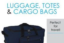 Luggage, Totes, & Cargo Bags / Here you will find DormCo's selection of Luggage, Totes, and Cargo bags. Need a suitcase? Look no further than our FL-J Suitcase Trunk! This dorm essential is the best of both worlds - similar to a trunk in style and durability, yet approved as checked in luggage with the TSA, it's a durable option for transporting your dorm essentials to college and for use as dorm room storage.